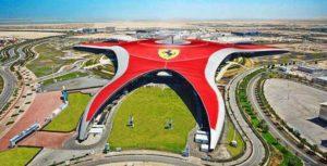 топ 12 фактов о ОАЭ: парк Ferrari в Абу-даби